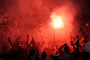 Angoloje per spūstį stadione žuvo mažiausiai 17 žmonių