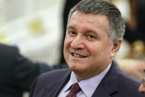 Rusija iškėlė bylą Ukrainos vidaus reikalų ministrui
