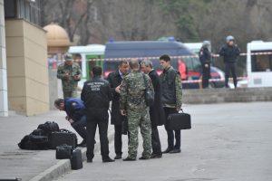 Rusijoje sprogmuo sunkiai sužalojo benamį