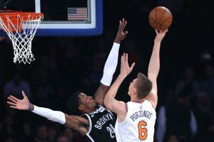 """Be M. Kuzminsko žaidusi """"Knicks"""" prarado ir K. Porzingį"""