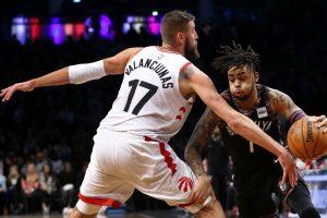 """NBA: """"Raptors"""" su J. Valančiūnu pralaimėjo antrą kartą iš eilės"""