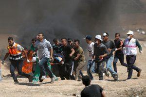 Susirėmimų Gazos Ruožo ir Izraelio pasienyje aukų padaugėjo iki 28