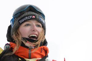 Po sniego lavina žuvo snieglenčių sporto čempionė