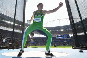 Lietuvos olimpiečiai užima 58-ą vietą