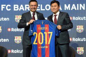 """""""Barcelona"""" pristatė naują marškinėlių rėmėją, kuris suplos 220 mln. eurų"""