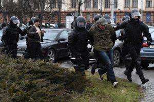Baltarusijos milicija paleido visus sulaikytus asmenis