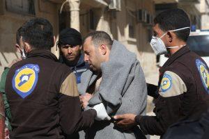 Sirijoje įtariamos dujų atakos aukų padaugėjo iki 58