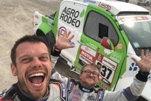 V. Žala ir S. Jurgelėnas aštuntą Dakaro etapą įveikė vienuolikti