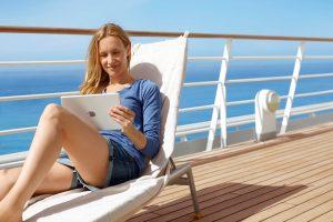 Jūrininkai nori interneto laivuose