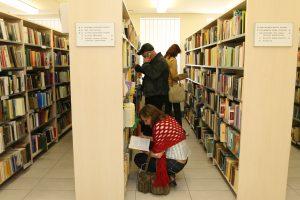 Bibliotekose labiausiai skaitytos V. Račicko ir L. Žutautės knygos