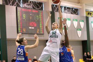 Galingas sugrįžimas: D. Šarauskaitė – Baltijos čempionato mėnesio MVP