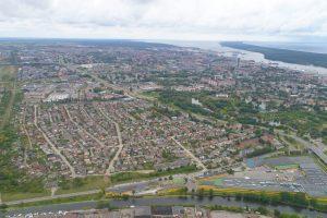 Slengių prijungimo klausimą aptarė su Klaipėdos meru