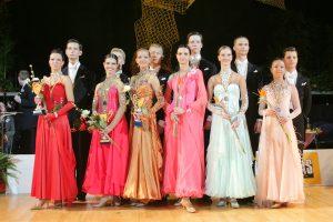 Lietuvos šokėjų poros – tarptautinių varžybų Italijoje nugalėtojos