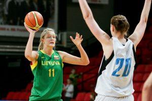Italijos krepšinio pirmenybėse G. Petronytė pelnė vienuolika taškų