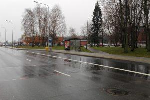 Klaipėdiečiams – atnaujintos keleivinio transporto stotelės