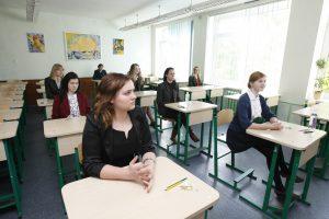 Geriausiai moksleiviai laikė rusų, sunkiausiai – vokiečių kalbos egzaminą