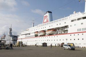 Į Klaipėdą atplaukia kruizinis laivas