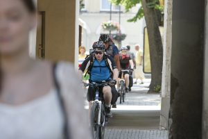 Klaipėdietę sužalojo dviratininkas