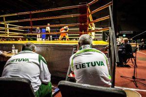 Naftos šalių čempionate Lietuvos boksininkai liko per žingsnį nuo medalių