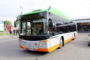 Klaipėda nori įsigyti 17 dujomis varomų autobusų