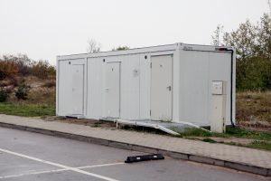 Savaitgalį atidarys paplūdimių tualetus