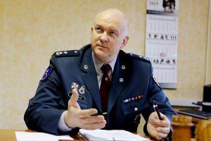 Buvęs Palangos policijos vadovas nebus teisiamas dėl piktnaudžiavimo tarnyba
