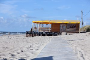Paplūdimiuose įsikurs nauji verslininkai