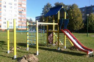 Uostamiesčio vaikams – nauji žaidimai