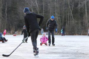 Ant Mumlaukio ežero ledo – žaidynės