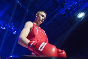Šilutiškis tapo brolių Kličko bokso turnyro Ukrainoje bronzos medalininku