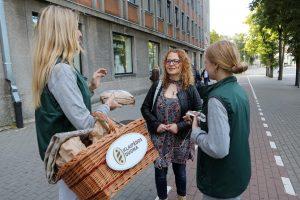 Uostamiesčio gatvėse pakvipo duona