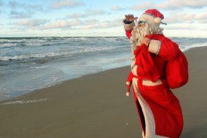 Kalėdų Senelio galios – iš debesų