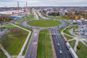 Rekonstruojant Baltijos pr. ir Šilutės pl. žiedinę sankryžą – pokyčiai