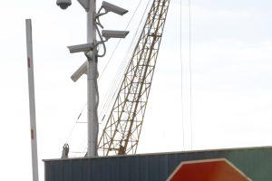 Nelaimė uoste – po ratais pateko darbuotojas