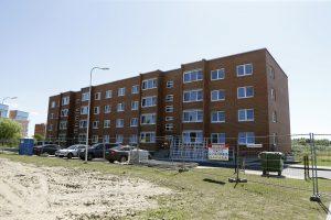 Klaipėdoje baigiama statyti socialinį namą