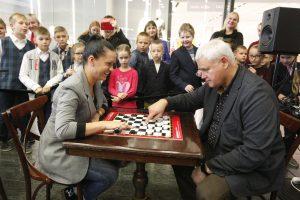 Šaškių turnyre – dalyvių rekordas