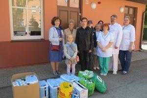 Slaugos ligoninei – dovanos iš vaikų rankų
