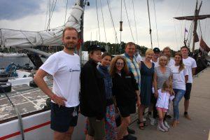 """Klaipėdiečiai kviečiami pasitikti grįžtančią jachtą """"Lietuva"""""""