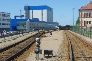 Pietinėje dalyje – nauji geležinkeliai