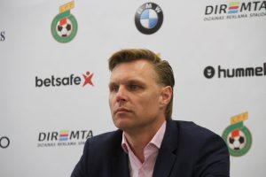 E. Jankauskas: norime sugrąžinti Baltijos taurę į Lietuvą