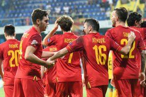Juodkalnijos futbolo rinktinėje – ryškiausios žvaigždės