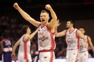 R. Kaukėno ir D. Lavrinovičiaus klubas – Italijos krepšinio pirmenybių finale