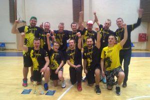 """""""Vorai"""" laimėjo Lietuvos salės lėkščiasvydžio čempionatą"""