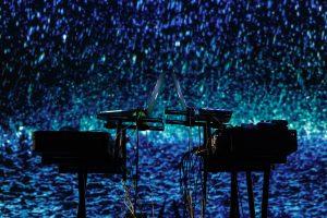 Nidos meno kolonijoje – kitų galaktikų muzika