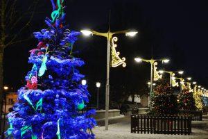 Palanga spindi kalėdinėmis spalvomis (renginių programa)
