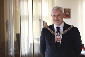 Klaipėdos merui skirtas garbingas apdovanojimas