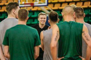Lietuvos krepšinio rinktinė susirinko Palangoje