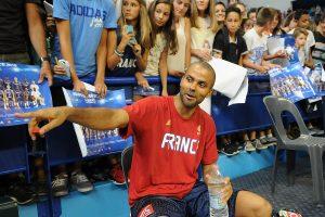 T. Parkeris tapo rezultatyviausiu visų laikų Europos čempionatų krepšininku