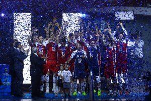 Lenkijos tinklininkai apgynė pasaulio čempionų titulą