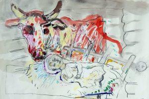 Baroti galerijoje – A. Skačkausko piešiniai